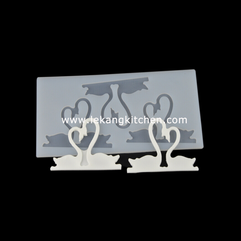 Silicone Chip Mould (Swan)
