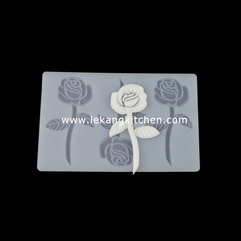 Silicone Chip Mould (Rose)
