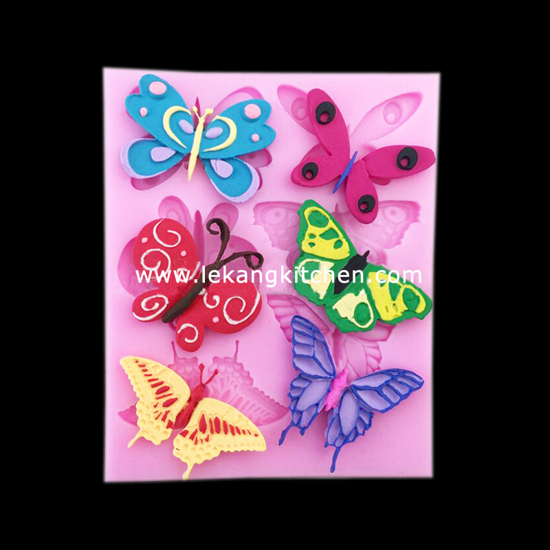 Silicone Cake Mould (Butterfly)
