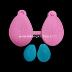 Silicone Leaf Mould (Rose Leaf)