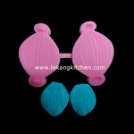 Silicone Leaf Mould (Orchid Petal)