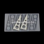 Silicone Chip Mould (Triangle)