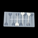 Silicone Chip Mould (Heart)