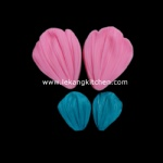 Silicone Leaf Mould (Rose Petal)